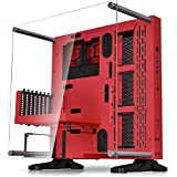Thermaltake Core P3 Red ATX Open Frame Panoramic Viewing Tt LCS Certified Gaming Computer Case CA-1G4-00M3WN-01