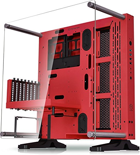 Thermaltake Core P1 Tempered Glass Edition Mini ITX Open Frame Panoramic Viewing Tt LCS Certified Gaming Computer Case CA-1H9-00T1WN-00 CA-1G4-00M3WN-01