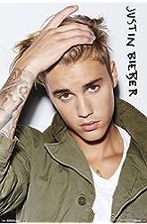 "Justin Bieber, Eyes, 22"" x 34"", Wall Poster"