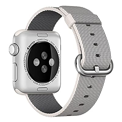 Apple Watch band Series 1 Series 2, Oitom Woven Nylon Watch Band Replacement Strap for Apple Watch 38mm 2015 & 2016 All Models