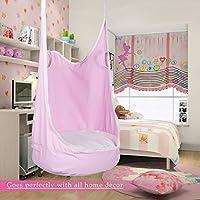 CO-Z Kids Pod Swing Seat Child Hanging Hammock Chair Indoor Outdoor Kid Hammock Seat Pod Nook