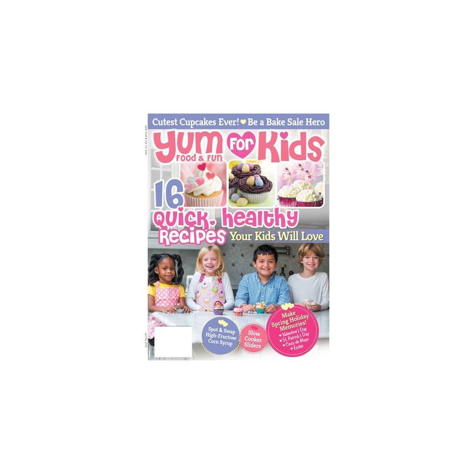 Yum Food & Fun for Kids Magazines