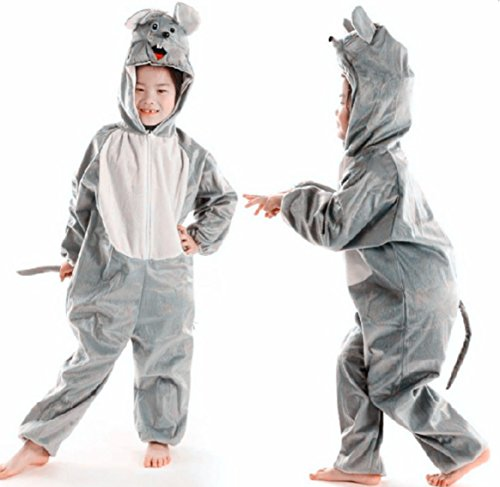 Children Party Costume Cartoon Animal Costume Funny Clothes Performance Kids Cosplay Costume (XL(Height 47.2