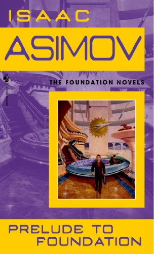 book cover of Prelude to Foundation