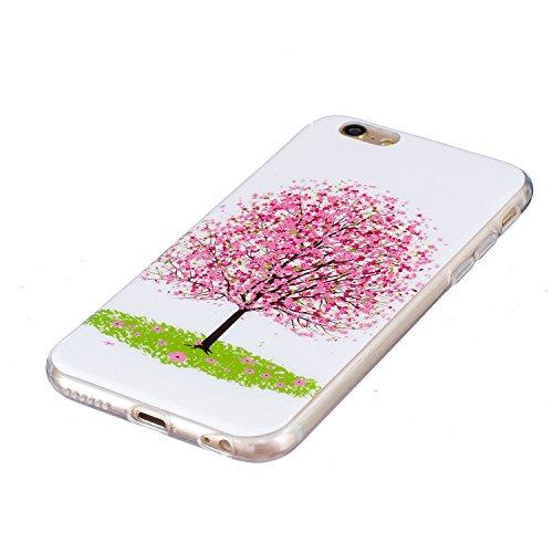 """iPhone 6 Plus / 6S Plus Schutzhülle , LH Kirschbaum TPU Weich Muschel Tasche Schutzhülle Silikon Hülle Schale Cover Case Gehäuse für Apple iPhone 6 Plus / 6S Plus 5.5"""""""