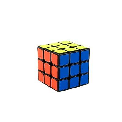 MoYu GUANLONG 3x3 3 Layers Magic Cube Speed Puzzle Cube Black MOYU velocidad de Guanlong 3x3 3 capas cubo mágico Puzzle Cubo negro: Juguetes y juegos