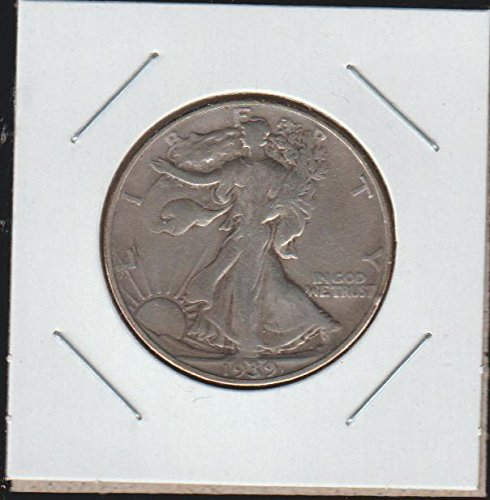1939 D Liberty Walking (1916-1947) Half Dollar Choice Fine