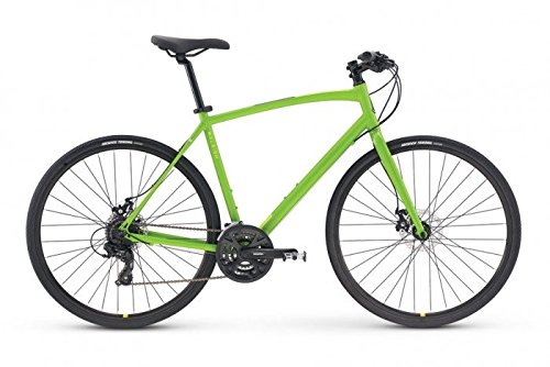 Raleigh Bikes Cadent 2 Fitness Hybrid Bike, Green