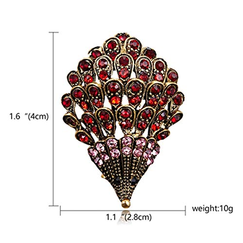 H made Colorful Dog Snake Animal Crystal Rhinestone Brooch Pin For Women Men Costume Jewelry Christmas Gift Hedgehog -