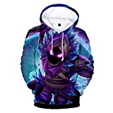 Tungly Women Sweatshirts Galaxy 3D Printed Drawstring Pullover
