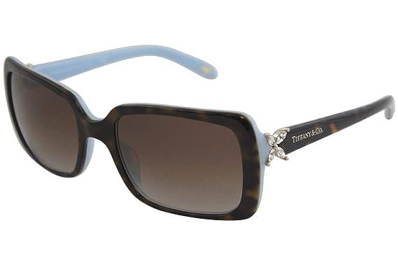 8afb30ac87ce Amazon.com  Sunglasses Tiffany TF 4047B 81343B TOP HAVANA BLUE  Clothing