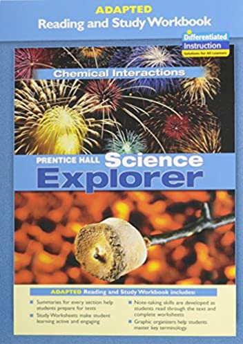 prentice hall science explorer chemical interactions adapted reading rh amazon com FOSSweb Chemical Interactions Drug Interactions