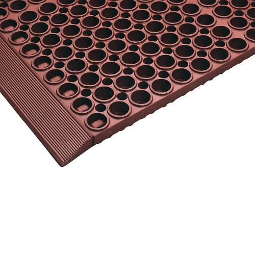 Notrax San-Eze Ii Corner Connector For Modular Drainage Mats - Red ()