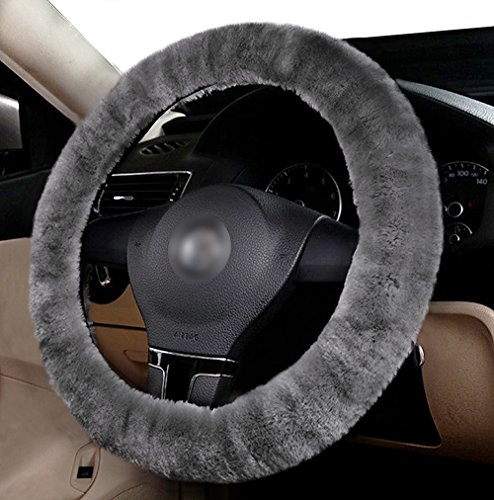 green stearing wheel cover - 2