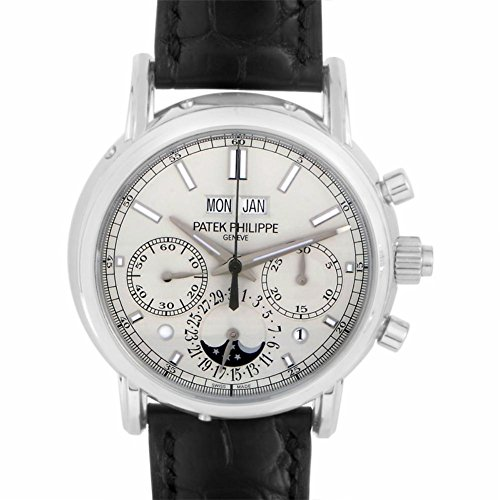 Patek Philippe Perpetual Calendar mechanical-hand-wind mens Watch 5204P-010 (Certified Pre-owned)