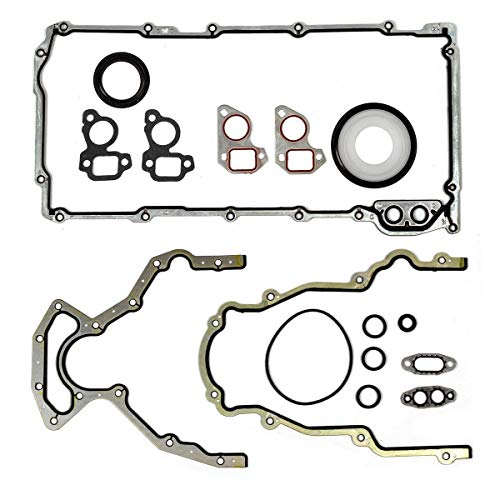 Vincos Lower Gasket Set Replacement For GMC/Ford/Isuzu/Saab 1997-2011 5.7L 6.0L 6.2L OHV LS3 VIN H M (Best Heads For 6.0 Lq4)