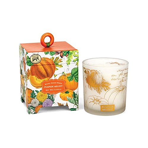 Michel Design Works Gift Boxed Soy Wax Candle, Pumpkin Melody, 6.5 oz by Michel Design Works
