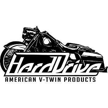 Harddrive 88-17 Harley FLSTC Floorboard Kit Sweeper
