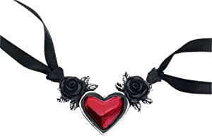 Blood Heart Pendant by Alchemy Gothic