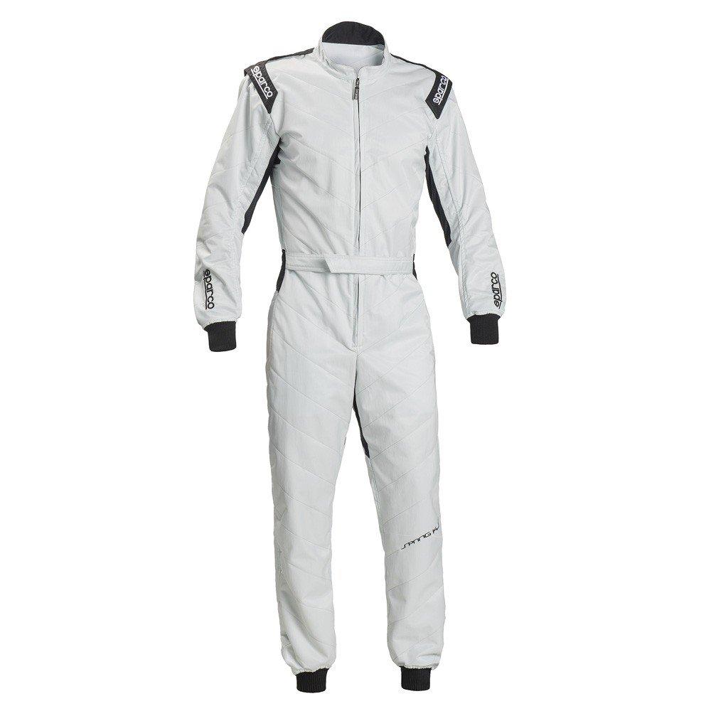 Sparco 002337SI5XXL Mono para Karting, Plata, XXL S002337SI5XXL