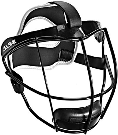 All-Star Vela Defensive Fastpitch Softball Fielders Mask - Youth by All-Star