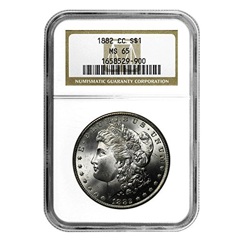 1882 CC Morgan Dollar $1 MS-65 NGC