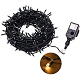 Proxima Direct® 100/200/300/400/500 SELV LED String Fairy Lights Christmas Tree lights with 8 Lighting Effects ideal for Garden, Christmas Tree (Warm White, 500 LED)