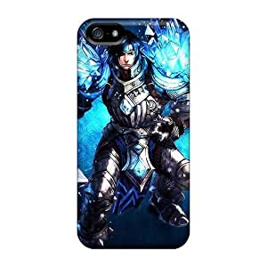 For Iphone 5/5s Tpu Phone Case Cover(league Of Legends Taric)