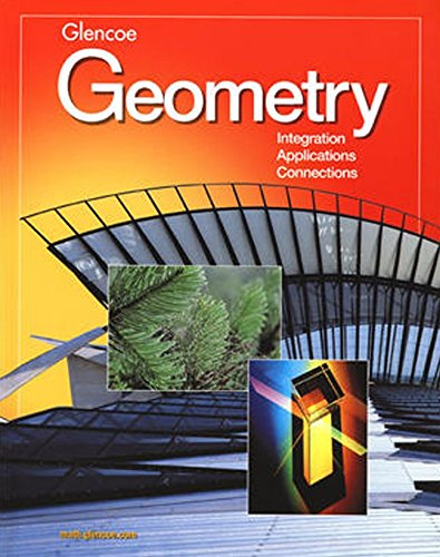 Geometry: Integration, Applications, Connections Student Edition (MERRILL GEOMETRY)