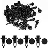 mud flaps crosstour 2010 - uxcell 50 Pcs 9mm Hole Retainer Clips Plastic Drive Rivets Mud Flaps Bumper Fender Push Clips 52161-02020 for Toyota