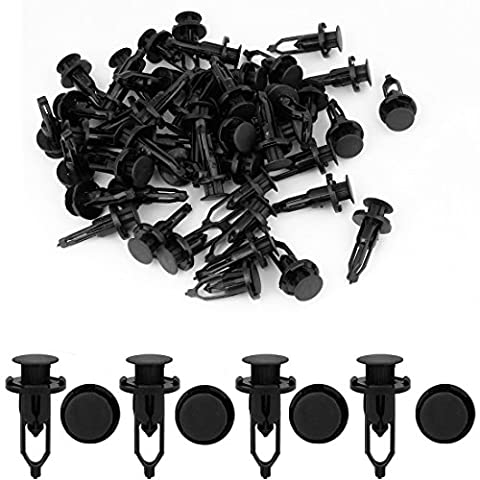 uxcell 50pcs Fender Bumper Clips Retainer Fasteners 52161-02020 - 1999 Toyota Camry Bumper