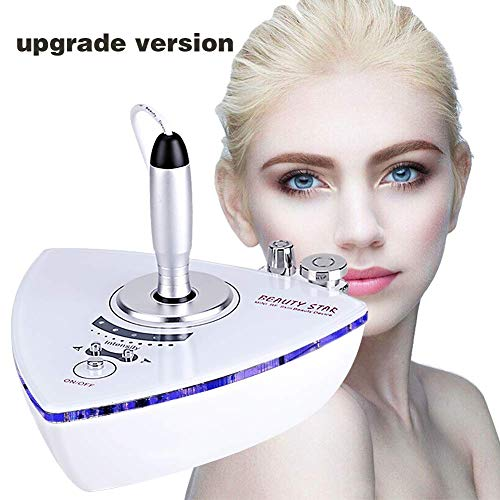 RF Radio Frequency Facial Machine, Beauty Star Home Use Portable Facial Machine for Skin Rejuvenation Wrinkle Removal Skin Tightening Anti Aging Skin Care