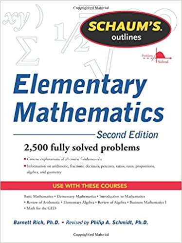Schaums Outline Of Review Of Elementary Mathematics Pdf