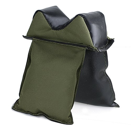 Gun Rest Bag Shooting Rest Bag Set on tree Branch or Window Shooting Support Universal Rear Shooting Bag for Hunting Hunter Shooter - Filled Fence Shooting Bag