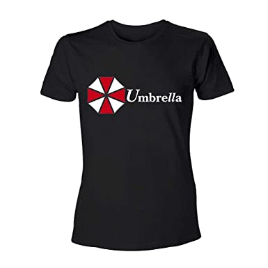 d6fbb996c7a36 Amazon.com  Merchandise 24 7 Resident Evil T-Shirt - Umbrella ...