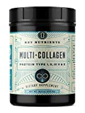 Multi Collagen Protein Powder, Keto Friendly: Types I, II, III, V & X