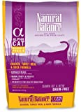 Natural Balance Alpha Grain-Free Chicken, Turkey Meal, and Duck Formula for Cats, 5-Pound Bag, My Pet Supplies