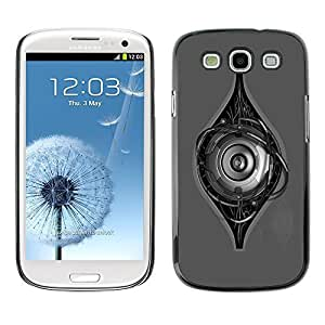 GagaDesign Phone Accessories: Hard Case Cover for Samsung Galaxy S4 - Robot Eye