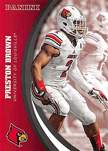 Preston Brown football card (Louisville Cardinals) 2016 Panini Team Collection #43