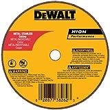 DEWALT DWA4510 Metal Grinding Wheel, 4-Inch x 1/8-Inch x 5/8-Inch