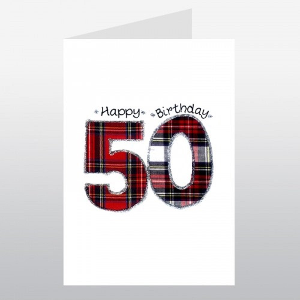 Embroidered originals wee wishes 50th birthday keepsake card made embroidered originals wee wishes 50th birthday keepsake card made in scotland amazon office products kristyandbryce Images