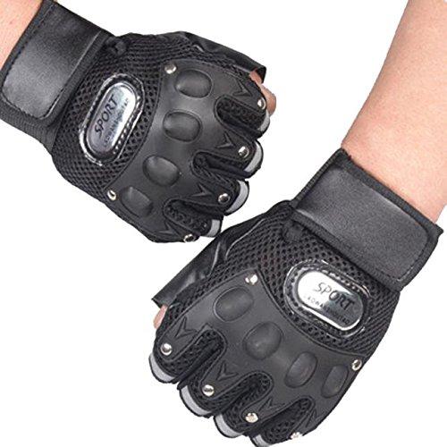 Exercise Gloves with Wrist Wraps Anti-Slip Support Weightlifting, Cross Training, Yoga, Gymnastics, Biking, General Workouts Men, Women Avoid Injury with Pressure Straps (Black)