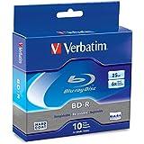 Verbatim 25 GB 6x Blu-ray Single Layer Recordable Disc BD-R, 10-Disc Spindle  97238