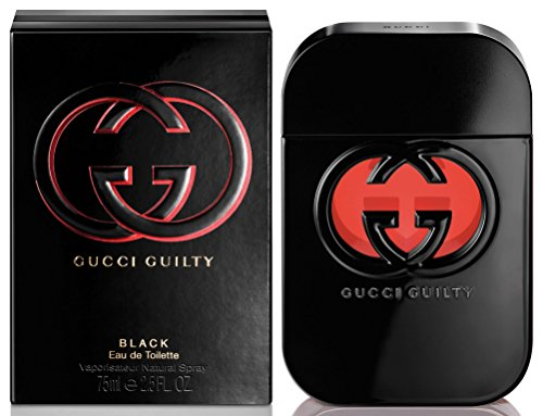 New G U C C I Guilty Black EDT Perfume for Women New in Box 2.5 Oz Brand Sealed in Box ()