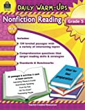 img - for Daily Warm-Ups: Nonfiction Reading Grd 5 book / textbook / text book
