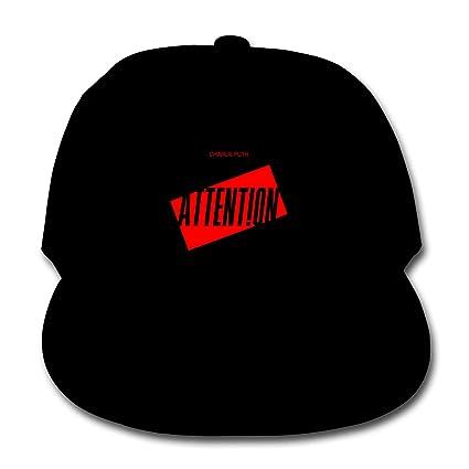 Amazon com: LWOSD Child Baseball Hat, Charlie Puth Attention