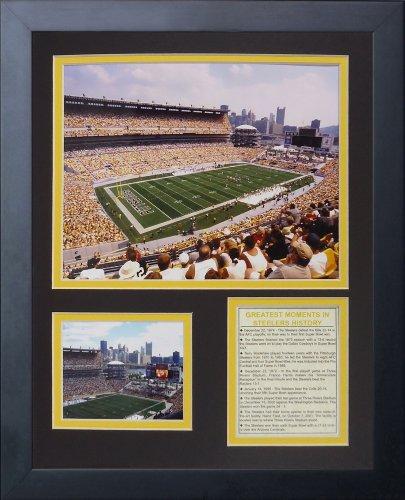 Pittsburgh Steelers Heinz Field Framed - Legends Never Die Heinz Field Framed Photo Collage, 11x14-Inch