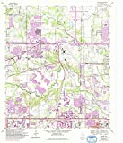 YellowMaps Euless TX topo map, 1:24000 Scale, 7.5 X 7.5 Minute, Historical, 1959, Updated 1992, 26.9 x 23 in