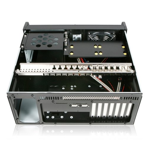 Rugged Military Rackmount (iStarUSA E-40 Black 4U Military Rackmount Chassis)