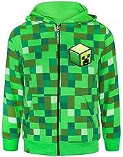 Minecraft Creeper Boy's Hoodie